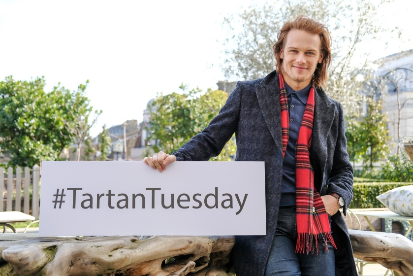 Outlander, Tartan Tuesday, Sam Heughan