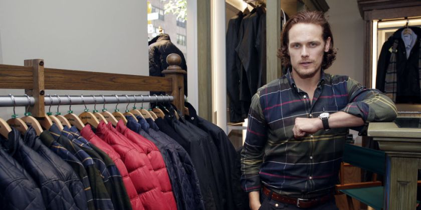 gallery-1475009625-landscape-1474580895-sam-heughan-barbour-global-brand-ambassador-event-4